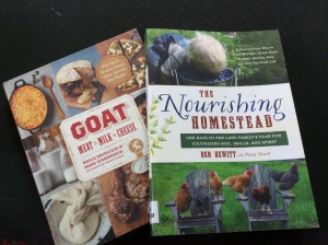 The Nourishing Homestead is an incredible read. Our library is such a valuable resource for our self-directed homestead education.