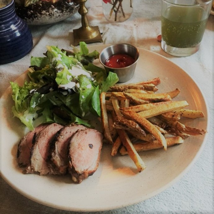 duck-frites