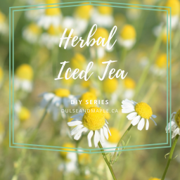 How to Make Herbal Iced Tea